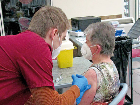 Zügige Impfungen