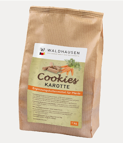 Biscoitos Cenoura 1kg WALDHAUSEN