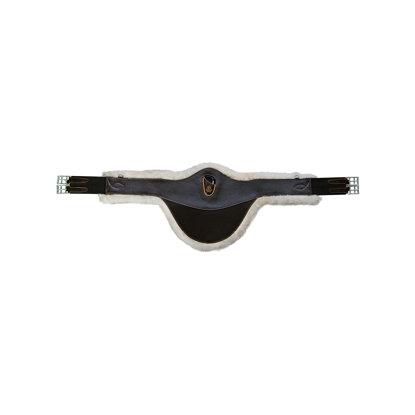 Cilha Babete Anatómica Couro (pêlo amovível) ACAVALLO