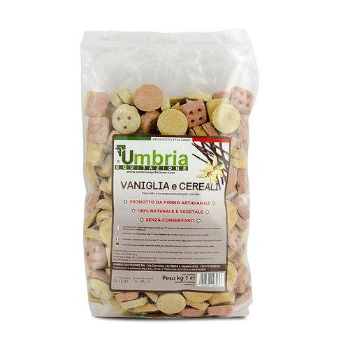 Biscoitos Baunilha Cereais 930g UMBRIA EQUITAZIONE