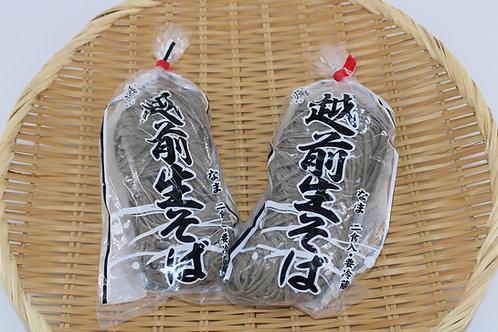 越前そば(生)2食つゆ付×2パック