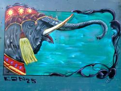 Elephant love in Sacremento