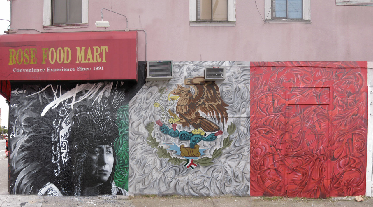 Mexian Heritage Wall