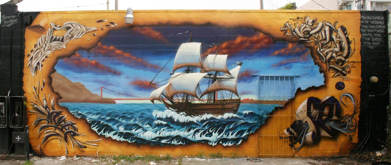 San Carlos wall