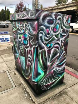 Oakland Utility Box