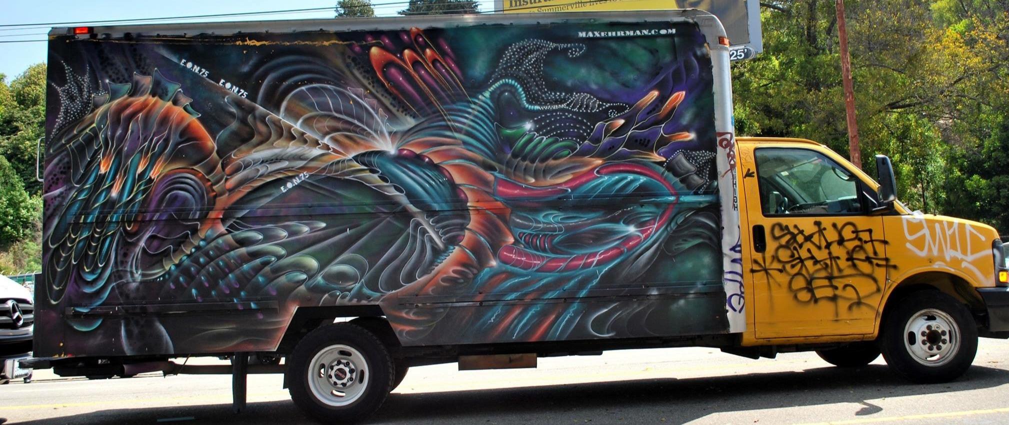 Delivery Van in San Francisco