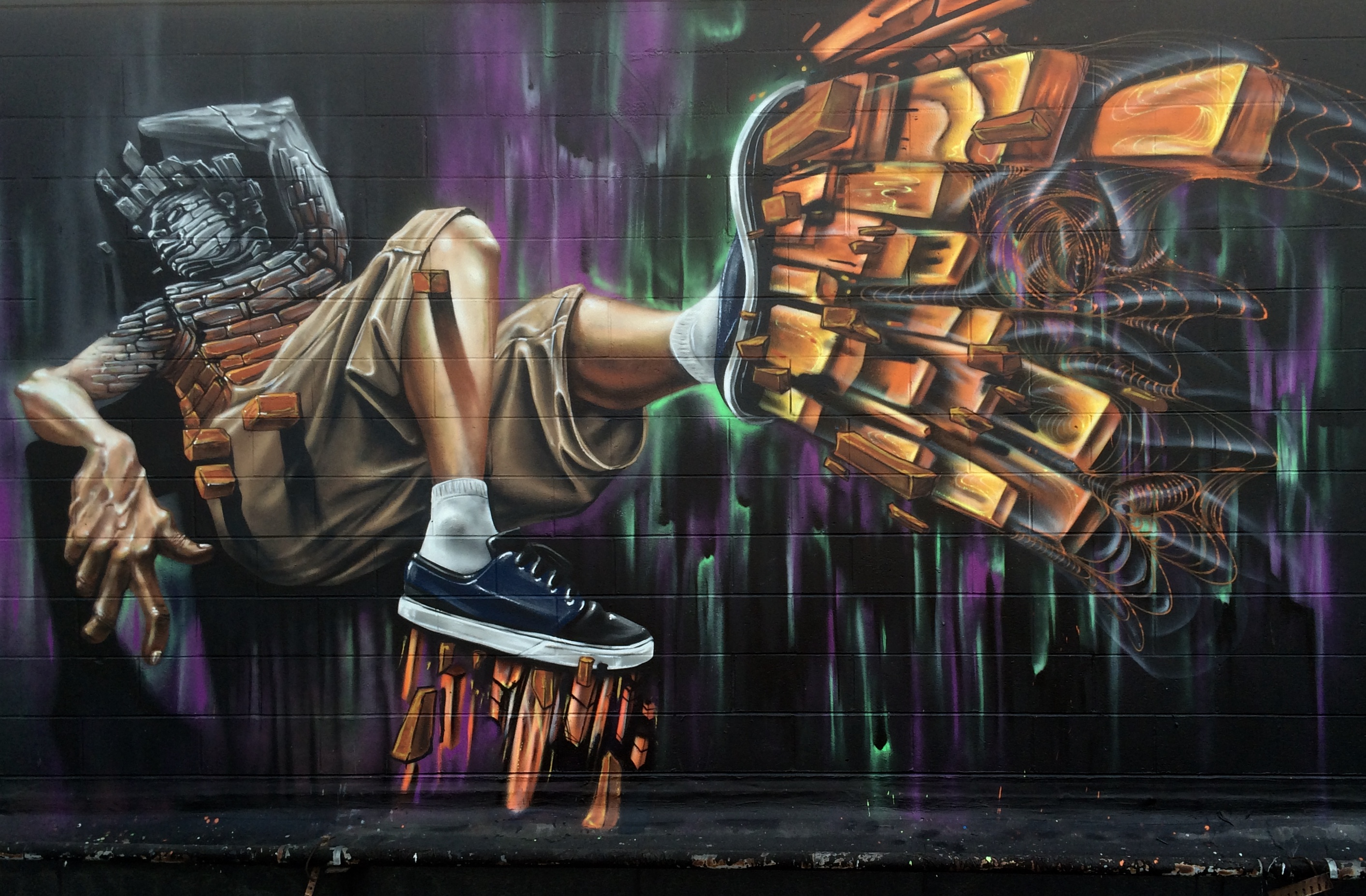 Off the Wall Mural