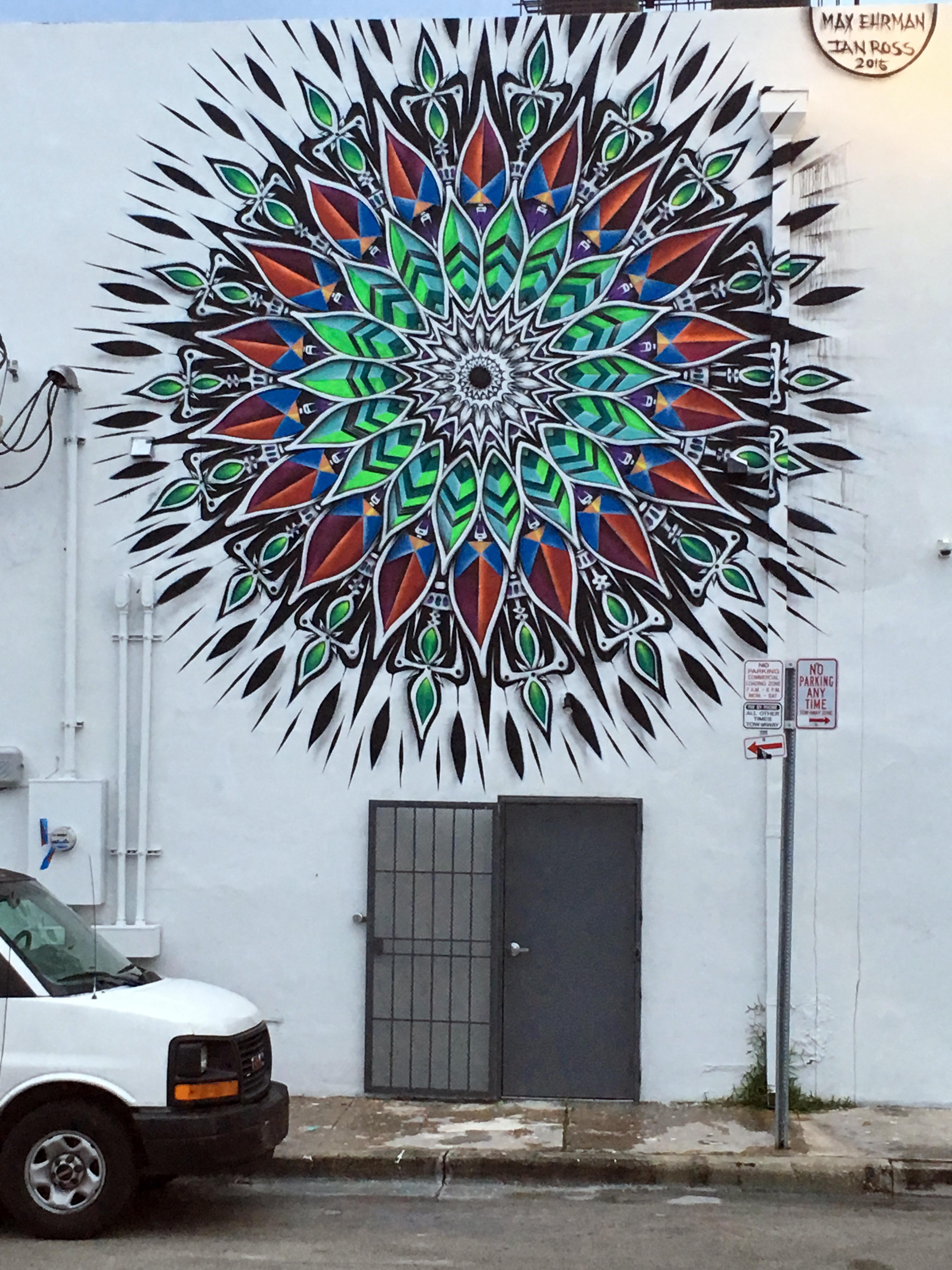 Mandala by Ian Ross and Eon75