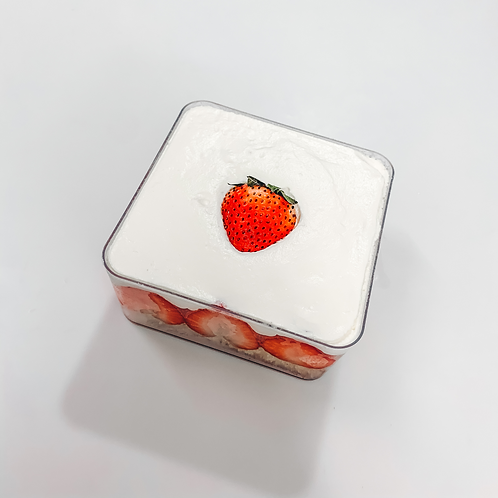 Strawberry Cube Box