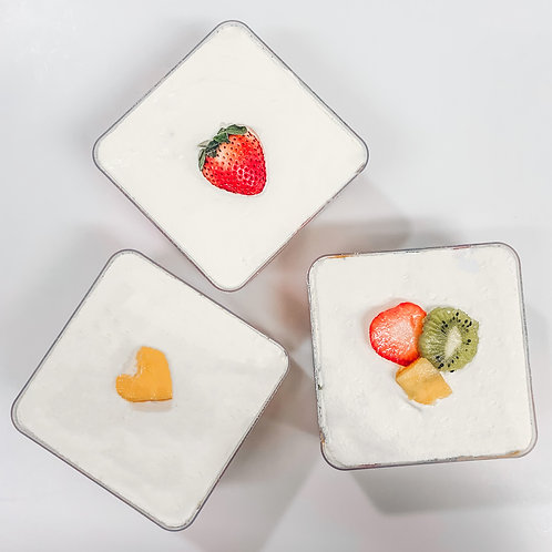Fruit Cube Cakes Bundle