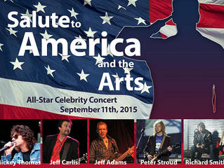 The Celebrity All Star Band raise funds for Veterans at Callanwolde