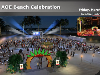CAB performs Paradise Island Bahamas for Anheuser Busch