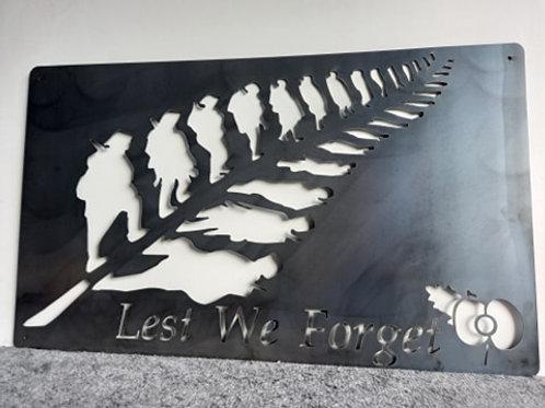 Lest We Forget - Silver Fern