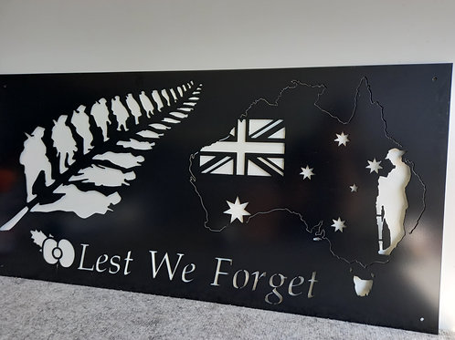 NZ & AUS Lest We Forget