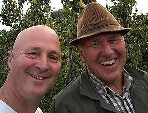 twee generaties fruittelers Van Wijk