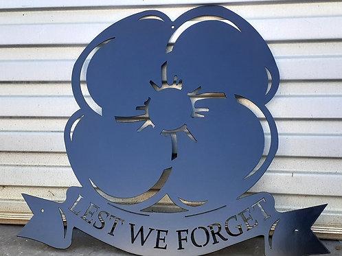 Poppy - Lest We Forget