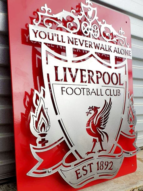 'The Reds' Stainless Steel Crest