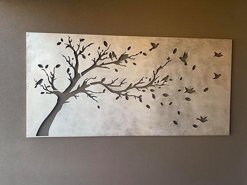 Tree & Birds