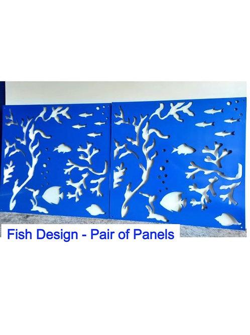 Underwater Panels - Add Your Favourite Ocean Creatures!