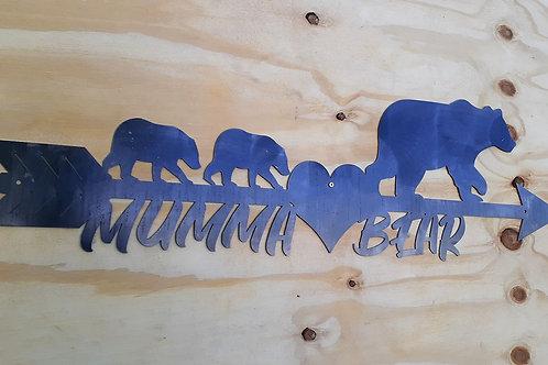 Mumma Bear Arrow Design