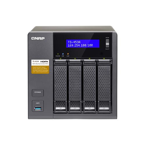 QNAP NAS TS-453A RAID 8TB (4 x 2TB)