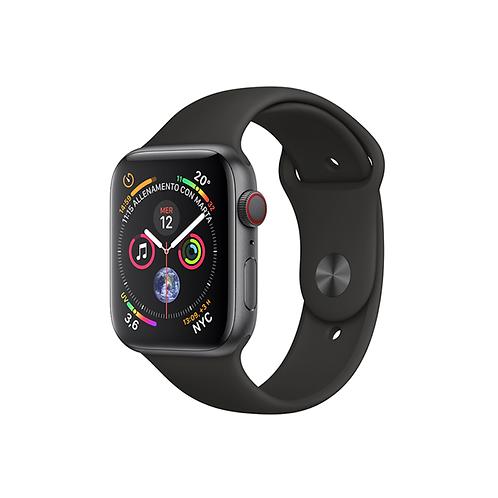 Apple Watch Series 5 Cassa acciaio siderale cinturino Sport nero