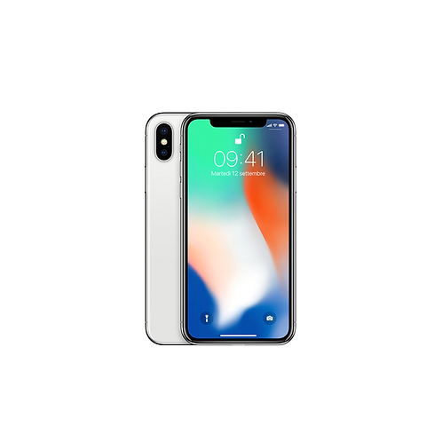 "iPhone X con OLED Retina Display 5,8"" Processore A11 Bionic Fotocamere 12 MP"