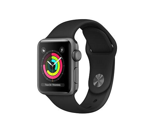 Apple Watch Series 3 Cassa alluminio con cinturino Sport