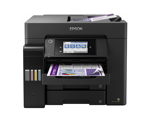 Epson Multifunzione A4 EcoTank Office inkjet Modello ET5850 Stampa a colori