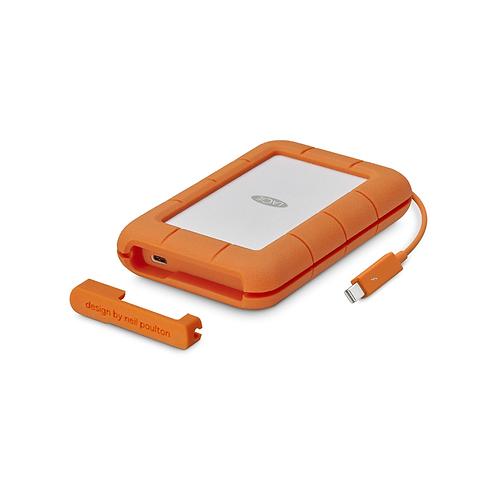 LaCie Mobile Drive USBC Thunderbolt Rugged 2TB