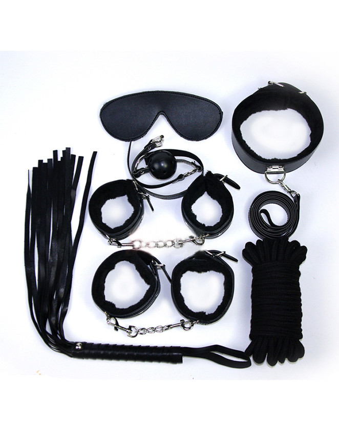 Black bondage starter kit in Australia