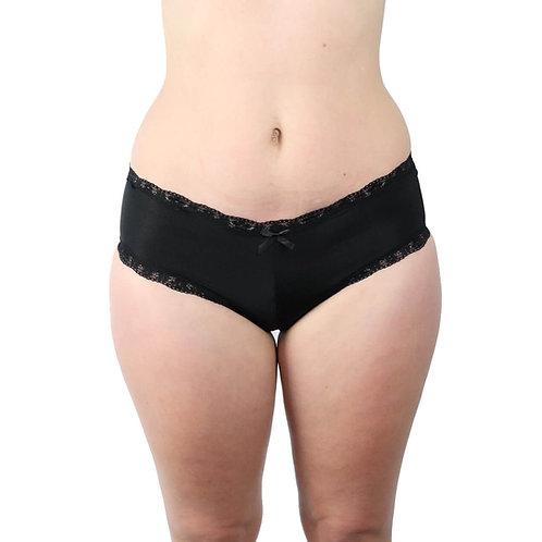 Sexy black plus size lingerie underwear