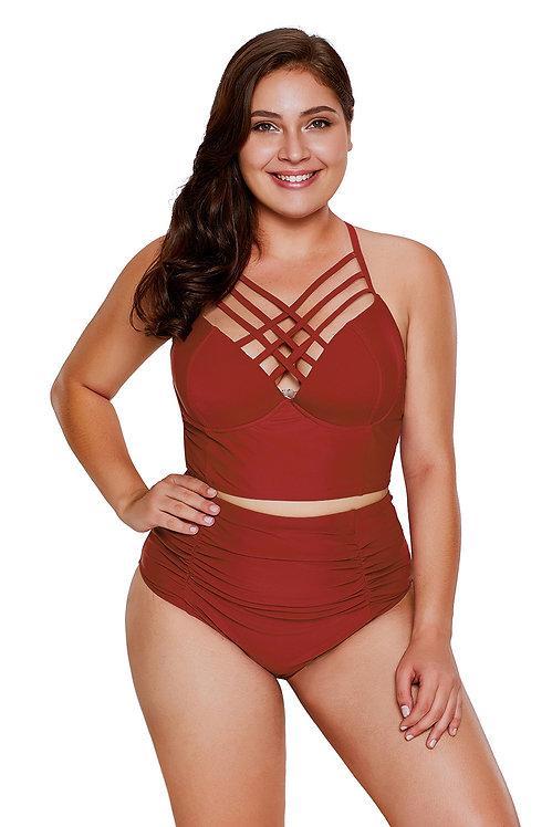 Bondi Red Swimwear Set