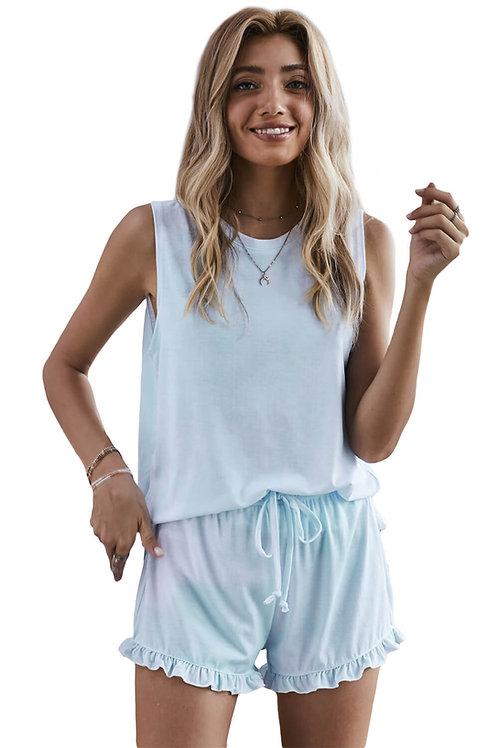 Jayella Blue Loungewear Set