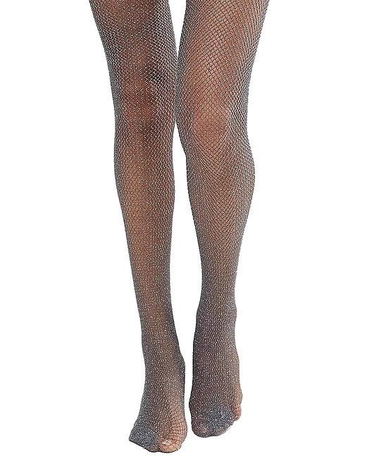 Sexy black sparkly stockings