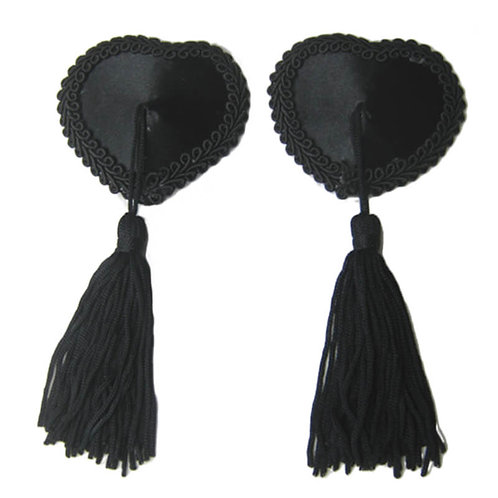 Sexy black nipple covers in Australian plus size lingerie boutique