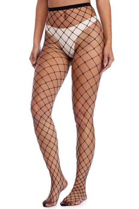 Sexy sheer and lace plus size stockings lingerie