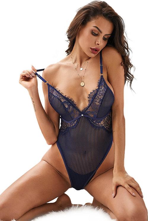 Naveya Blue Bodysuit