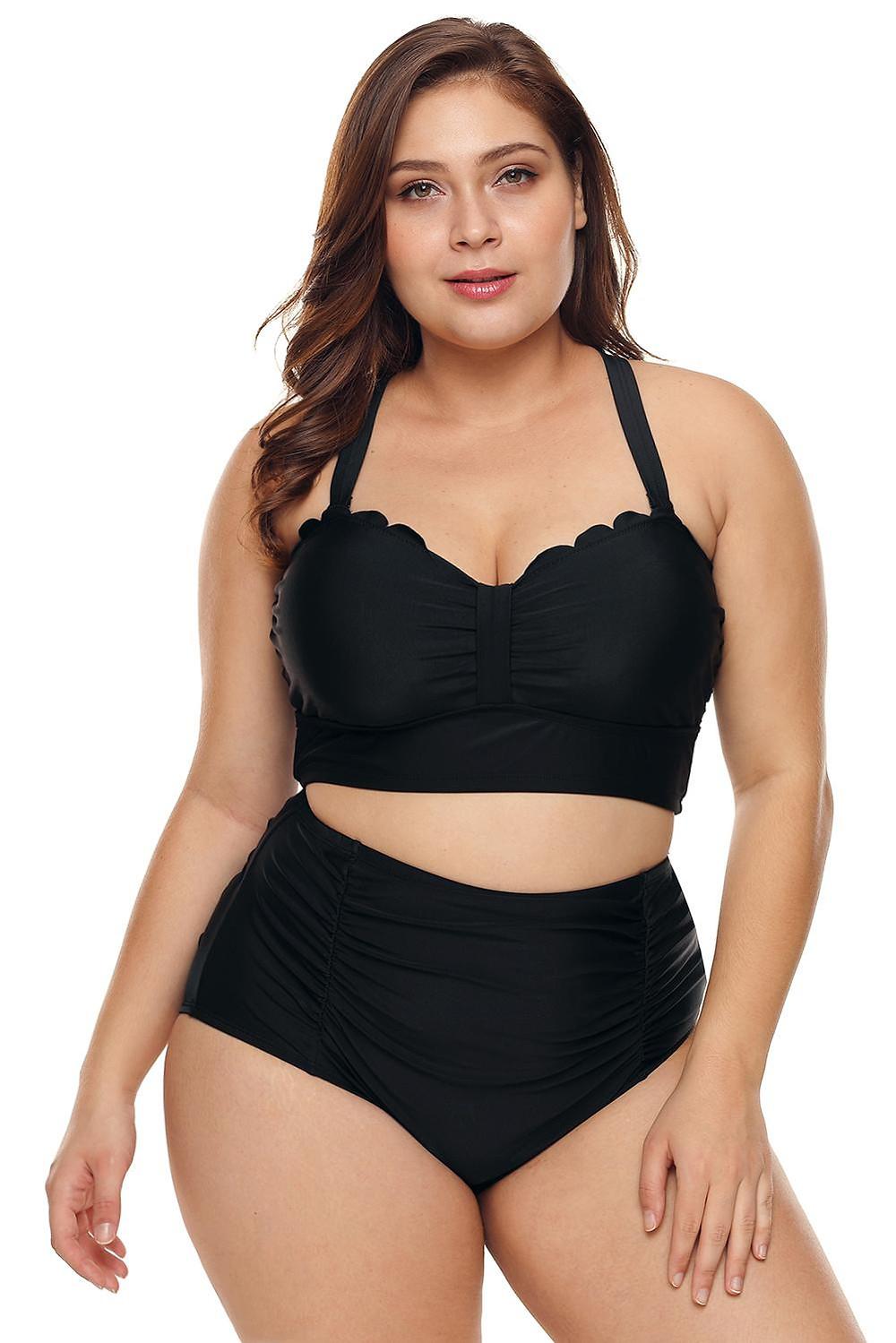 Plus size swimwear lingerie australia