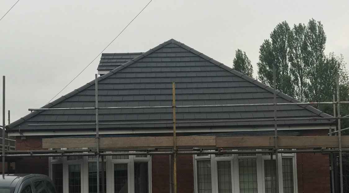 Bungalow re-roof