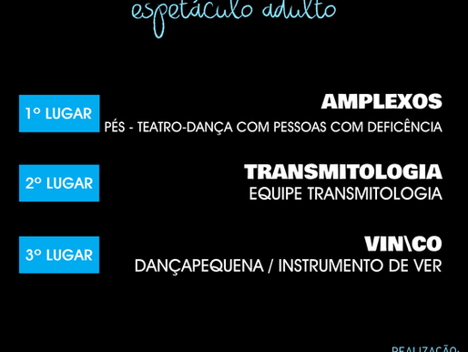 Conheça @s mais votad@s pelo público no Prêmio Web de Teatro do DF 2o19!
