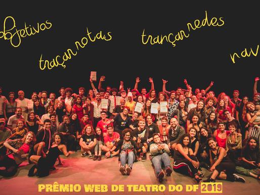 Conheça as 3 iniciativas virtuais homenageadas no Prêmio Web de Teatro do DF 2019
