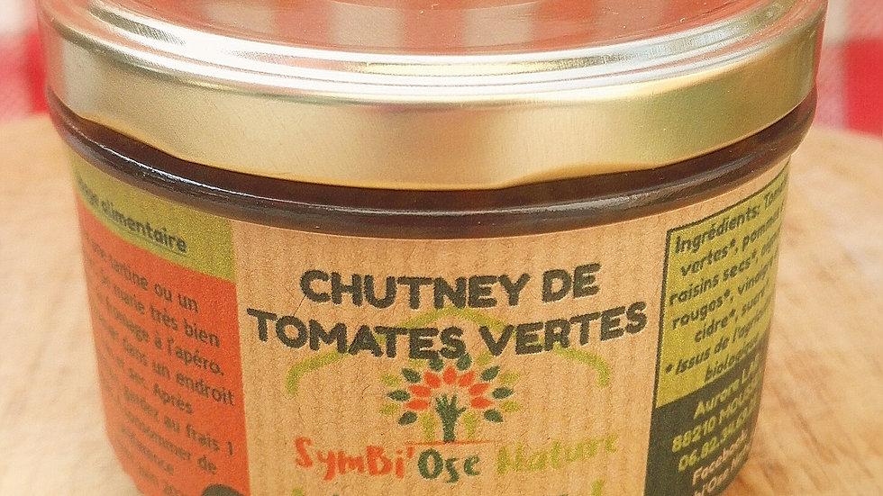 Chutney de Tomates Vertes/Oignon/Raisin