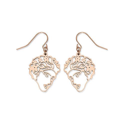 Flora Face Earrings
