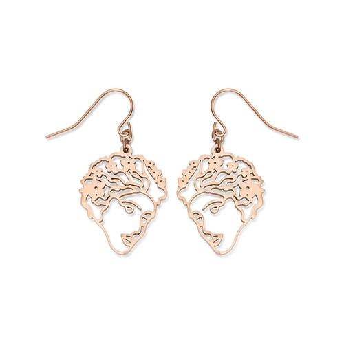 Flora Face Earrings    ESA EVANS