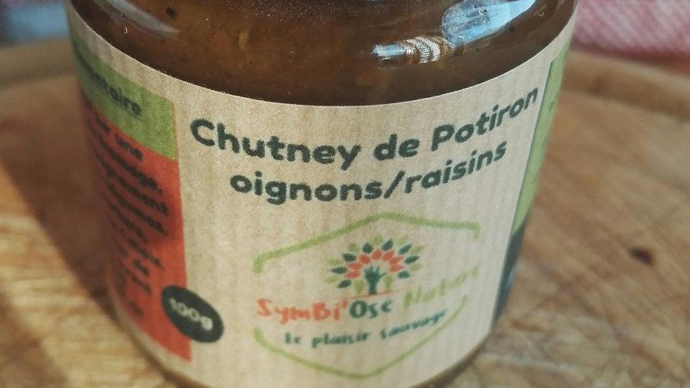 Chutney de Potiron/Oignon/Raisin 100g