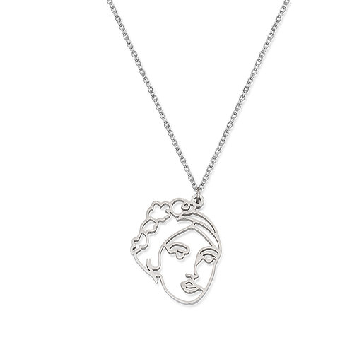 Persephone Face Pendant