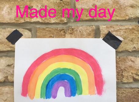 You gave me a rainbow!