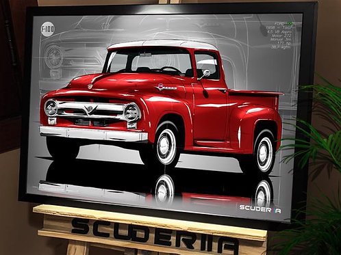 FORD F100 1958-1962 - PERSPECTIVE