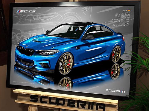 BMW M2 CS 2021 - PERSPECTIVE